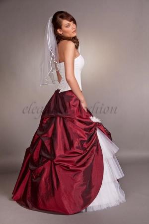 ... Brautkleid A-Linie, Brautkleider 2009, Brautkleid rot, Abendkleider