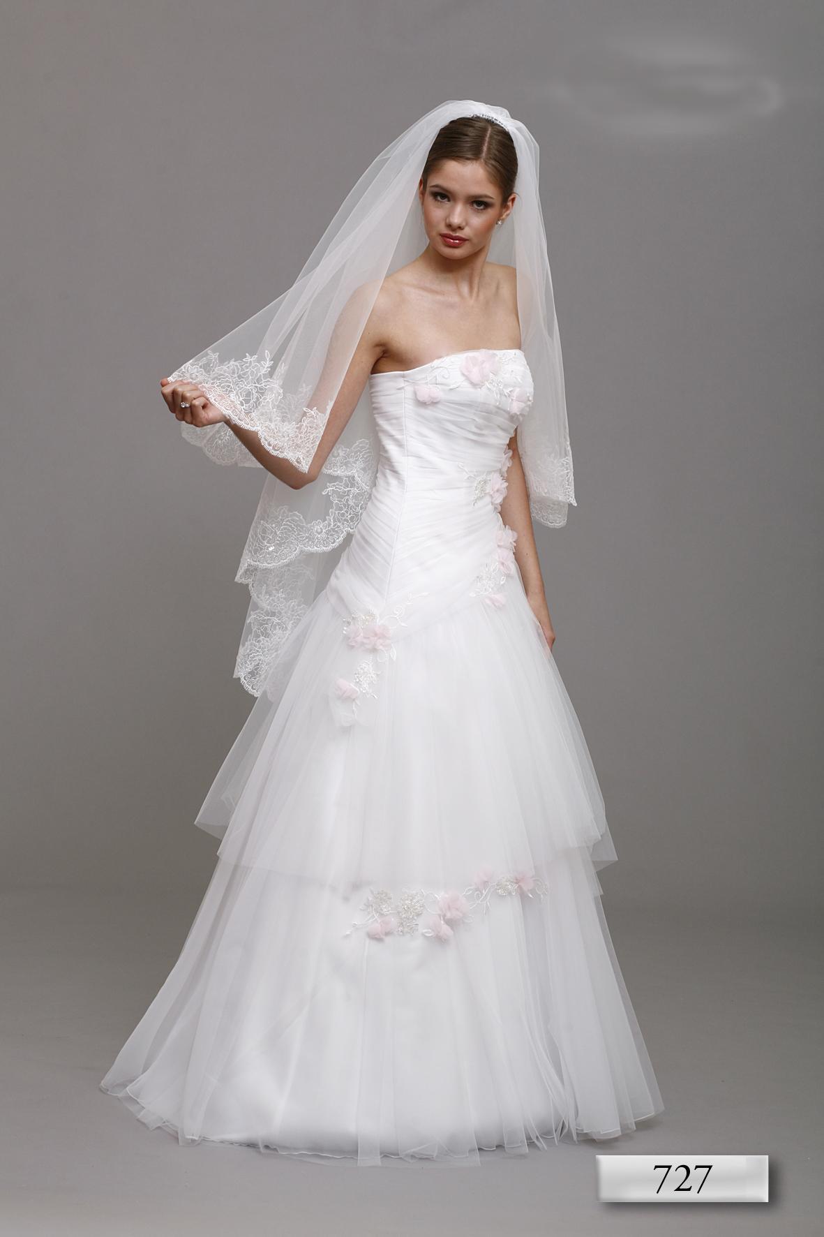 Brautkleid Hochzeitskleid 727