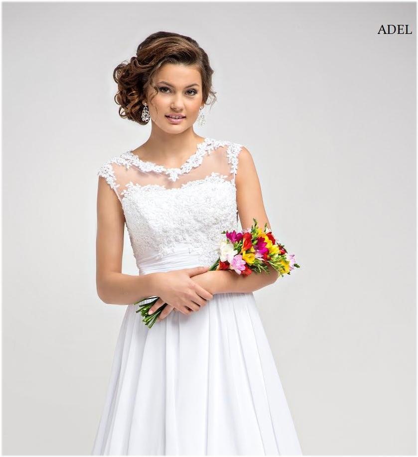 Brautkleid Adel A Linie Schlicht
