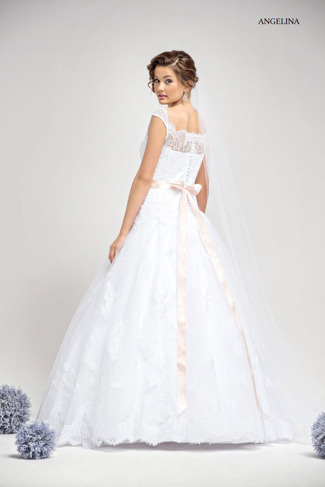 Spitzen-Brautkleid Angelina