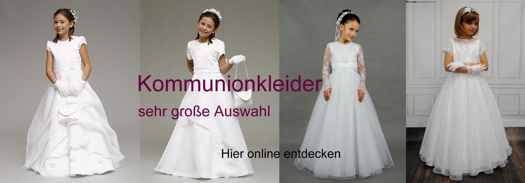 Brautmode Online Shop Brautkleider Kommunionkleider Und Abendkleider Gunstig Online Bestellen